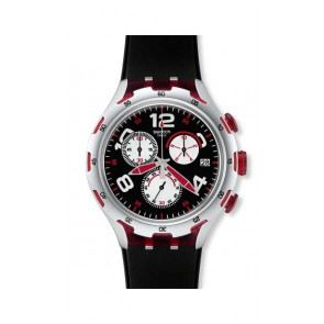 Watch Swatch Red Wheel